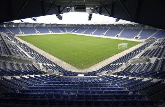 PRAKTANLEGG: Viking stadion anses som det flotteste i Norge.